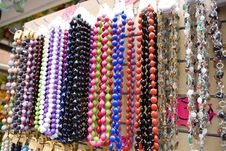 Free Multi-colored Beads Stock Images - 5422454