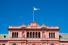 Free Pink House, Buenos Aires. Royalty Free Stock Photo - 5422585