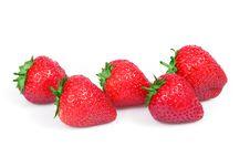 Free Fresh Strawberry Royalty Free Stock Image - 5422766