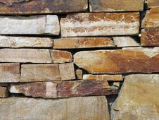 Free Brown Stone Wall Stock Photos - 5422913