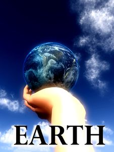 Free Earth Word Stock Photography - 5423022