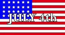 Free July 4th Royalty Free Stock Photography - 5423087