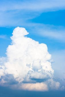 Free Blue Sky With Clouds Royalty Free Stock Photography - 5423147