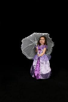 Free Pretty Parasol Girl Stock Images - 5423344