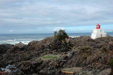 Free Seashore Lighthouse Stock Photo - 5424490