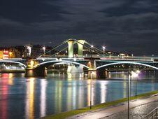 Free Bridge At Night Royalty Free Stock Photos - 5424628