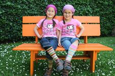 True Twins Royalty Free Stock Images