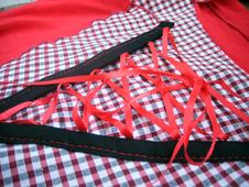 Free Shirt-waist With Red Lacing Stock Photo - 5424820