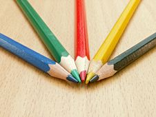 Free Color Pencils Stock Photos - 5425243