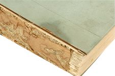 Free Old Book Close Up Isolated With Path Stock Photography - 5425862