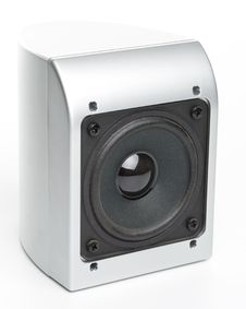 Free Loudspeakers On A White Stock Photo - 5426440