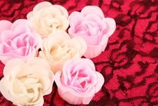 Free Soap Flowers Stock Photography - 5426452