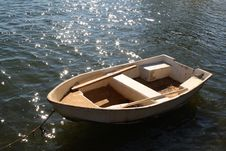 Small Boat In Caribbean Royalty Free Stock Photography