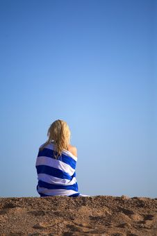 Free Blue Relaxation Royalty Free Stock Image - 5427366