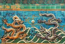 Free Dragon Wall Royalty Free Stock Photos - 5427778