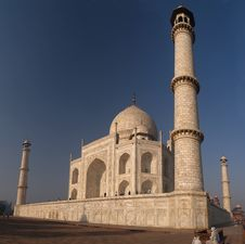 Free Taj Mahal Royalty Free Stock Photo - 5428015