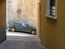 Parked Car Stock Photography
