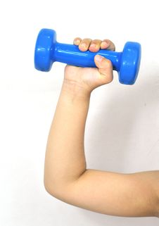 Free Dumbbell Royalty Free Stock Image - 5429286