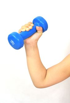 Free Dumbbell Royalty Free Stock Photo - 5429295