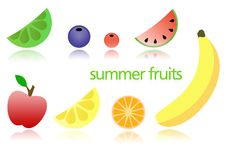 Free Summer Fruits Royalty Free Stock Image - 5429616