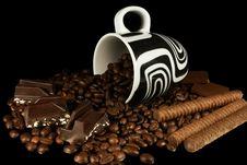 Free Coffee And Chocolate Royalty Free Stock Photos - 5429658