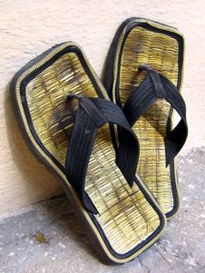Free A Pair Of Slippers Royalty Free Stock Photography - 5429707
