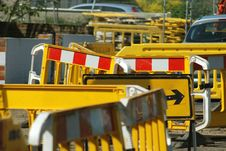 Free Close Up Of Roadworks Stock Photography - 5429712