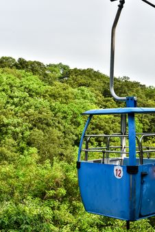 Free Cableway Royalty Free Stock Image - 54278476