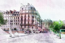 Free Beautiful Image Of Paris Stock Photography - 54295022