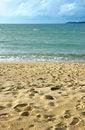 Free Peaceful Sandy Beach Royalty Free Stock Image - 5435346