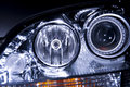 Free Car Headlight Stock Image - 5436691