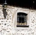 Free Window On The Stony Wall Stock Image - 5436911