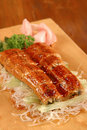 Free Barbeque Fish With Sauces Royalty Free Stock Photos - 5439718