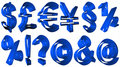 Free High Resolution 3D Symbols Royalty Free Stock Image - 5439946