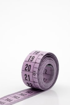 Free Measuring Tape. Royalty Free Stock Photography - 5430377