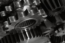 Free Power Gears In Action Royalty Free Stock Photography - 5430497