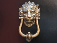 Free Ancient Door Handle Royalty Free Stock Photos - 5430848