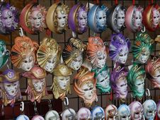 Free Venetian Masks Stock Photography - 5430852