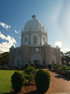 Free Bahai Temple In Sydney Stock Image - 5430861