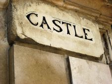 Free Castle Engraving Stock Images - 5431064