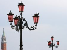 Free Street Lamps In Venice, Italy Stock Photos - 5431073