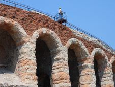 The Arena In Verona Royalty Free Stock Image