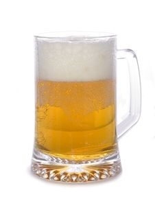 Free Cold Beer Glass Stock Photography - 5431252