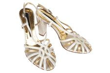 Free Fashionable Female Shoes Stock Image - 5431351