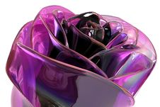 Free Glass Violet Rose Stock Images - 5431464