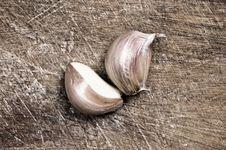Free Garlic. Stock Photography - 5431612