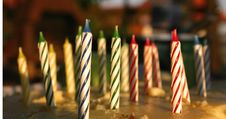 Free Birthday Candle Stock Photo - 5431970