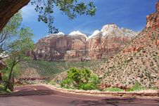 Free Zion NP, Utah Stock Photography - 5432032