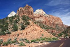 Free Zion NP, Utah Royalty Free Stock Photography - 5432107