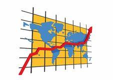 Free 3d Statistics - World Map Stock Photo - 5432110